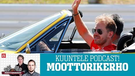 Sebastian Vettel voi vilkuttaa mestaruushaaveilleen.