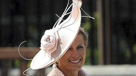 Wessexin kreivitär Sophie on prinssi Edwardin puoliso.