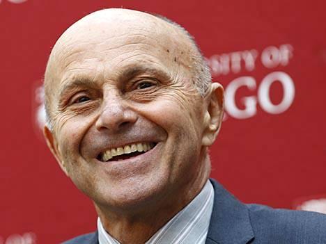 Eugene Fama, yksi kolmesta talouden Nobel-palkinnon saajasta tänä vuonna.