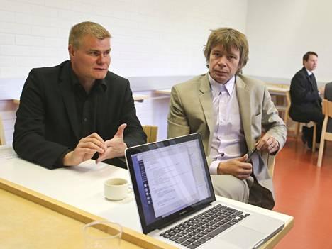 Antti Jokipii ja Timo Korhonen ovat perustamassa maailman suurinta musiikkitietokantaa.