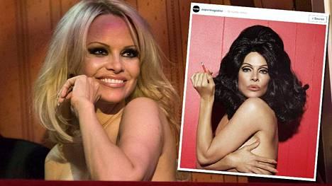 Pamela Anderson on jälleen pannut kroppansa likoon hyvän asian puolesta.