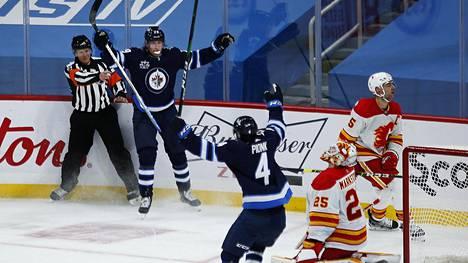 Patrik Laine ratkaisi Winnipegille voiton jatkoajalla.