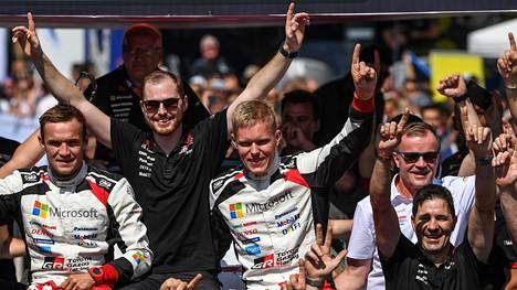 Tommi Mäkisen johtama Toyota nousi valmistajien MM-sarjan kärkeen