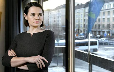 Svjatlana Tsihanouskaja vieraili Suomessa maanantaista torstaihin.