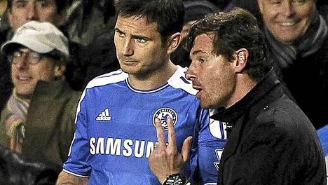 Andre Villas-Boas päästi Frank Lampardin lopulta kentälle ja Lampard upotti pallon pilkulta Manchester Cityn verkkoon.