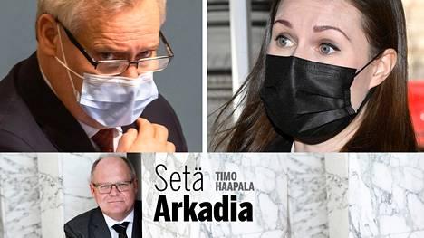 """Ihme: Marin päätyi Antti Rinteen valiokunnan """"Anttivangiksi""""."""