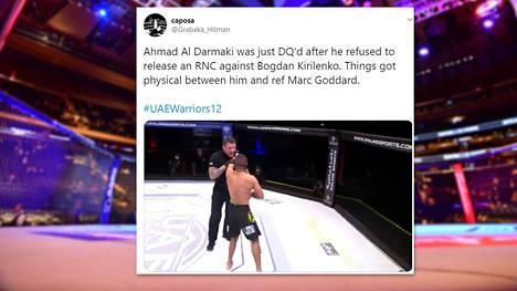 Al Darmakin käytös tuomittiin välittömästi.