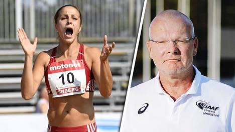 IS tavoitti Urheiluliiton puheenjohtajan Vesa Harmaakorven kommentoimaan seitsenottelija Maria Huntingtonin EM-matkan vaarantanutta tapausta.