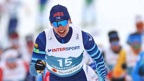Iivo Niskanen ei ole mitalitaistelussa yhdistelmäkilpailussa.