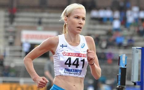 Markovaara juoksi Suomi–Ruotsi maaottelussa syyskuussa 2015.