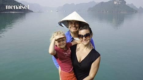 Maailmanympärimatka oli kokemuksena huikea, mutta myös huomattavasti rankempi kuin perhe osasi kuvitella.