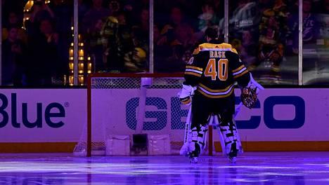 Boston Bruinsin tähtimaalivahti Tuukka Rask on pohtinut uransa lopettamista.