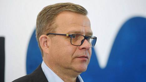 Kokoomuksen puheenjohtaja Petteri Orpo puhui Kokoomuksen puoluehallituksen kokouksessa Helsingissä 15. kesäkuuta 2021.