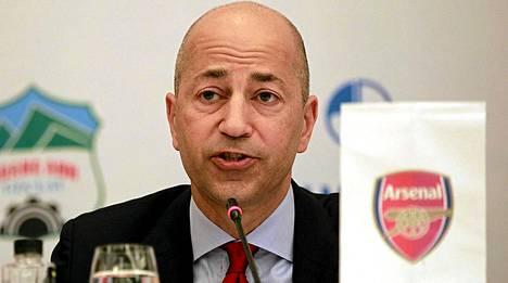 Arsenalin toimitusjohtaja Ivan Gazidis sai faneilta kirjeen.