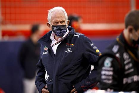 Ratarajasäännöt kaihertavat Helmut Markoa.