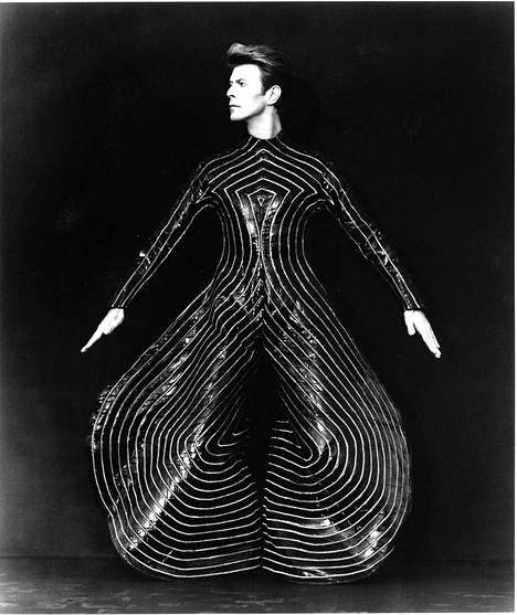 David Bowie vuonna 1990.