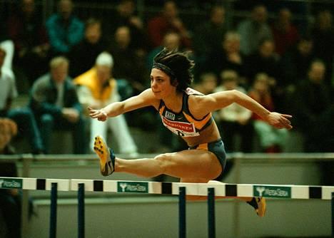 Manuela Bosco yleisurheilun nuorten SM-kisoissa 1998.
