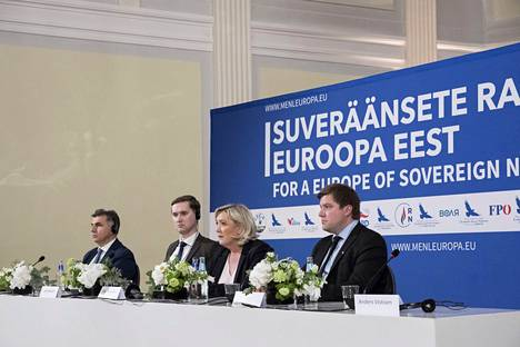 Tallinnassa järjestetyn kokouksen lehdistötilaisuus 14. toukokuuta.