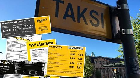 Taksien hintakilpailu alkaa.