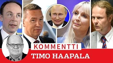 Perussuomalaiset näyttää olevan samalla tiellä kuin monet muutkin Euroopan oikeistolaiset populistipuolueet, jotka hakevat tukea Venäjältä ja joita Venäjä käyttää omassa politiikassaan hyväksi.