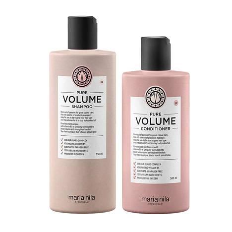 Shampoo 27 € / 350 ml, hoitoaine 27 € / 300 ml, mm. Eleven.fi.