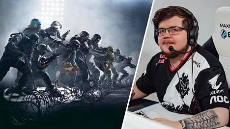 """Juhani """"Kantoraketti"""" Toivonen edustaa G2 Esportsia, joka on mukana uudessa euroliigassa."""