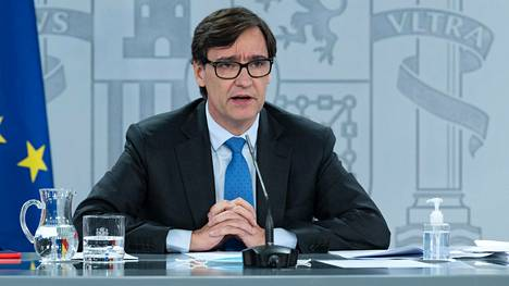 Espanjan terveysministeri Salvador Illa.