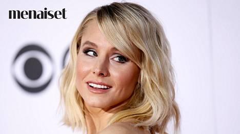 Näyttelijä Kristen Bell osoittaa, että ripaus highlighteria tekee huulista entistä kauniimmat.
