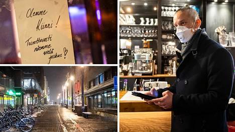 Avin alkoholitarkastajat kiersivät oululaisia ravintoloita perjantaina ja lauantaina. Alkoholiylitarkastaja Toni Latvamäen mukaan anniskelupaikoissa oli hyvin rauhallista.