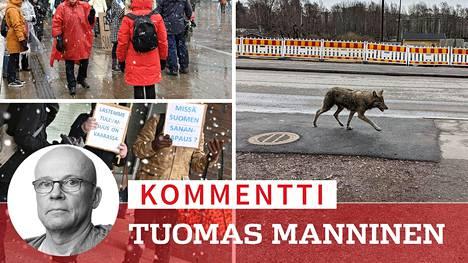 Jos kulkutautimyönteiset eläisivät omavaraisissa kommuuneissa Suomen syrjäseuduilla, muut suomalaiset olisivat turvassa.
