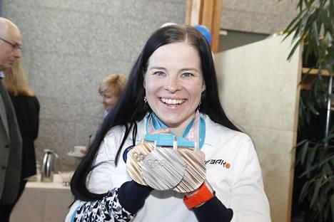 Pyeongchangin talviolympialaiset olivat Krista Pärmäkoskelle kolmen mitalin juhlaa.