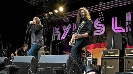 Kyuss Lives esiintyi Saarilavalla.