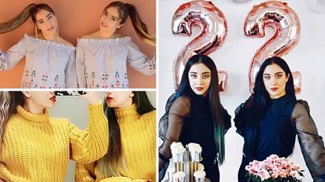 """Helsingissä asuvat Mariam ja Monire ovat identtisiä kaksosia. 22-vuotiaat nuoret naiset näkevät samanlaisia unia, ostavat tahtomattaankin samanlaisia vaatteita ja seisovat aina toistensa rinnalla. """"Toinen tietää aina, miltä itsestä tuntuu."""" Somessa kaksikko tunnetaan nimellä Marmon Twins."""