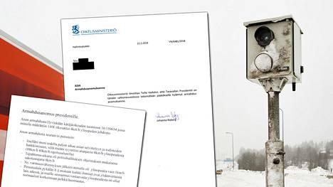 Kirje Oikeusministeriöstä