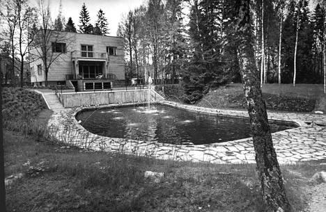 Korpilinna Kalevi Keihäsen aikana vuonna 1973.