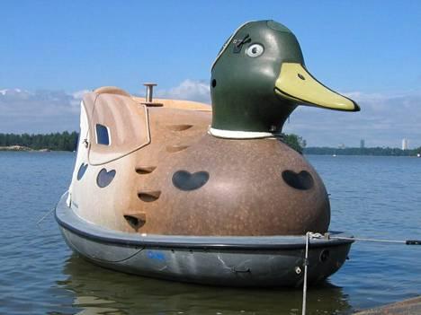 Modultech Ab Åkerlundin Fin-duck sopii vaikkapa saunojille.