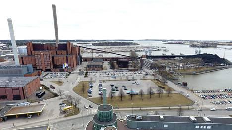 Helsinkiin suunnitellulla suurmoskeijalla ja sen monitoimikeskuksella oli tonttivaraus Hanasaaren alueelle.