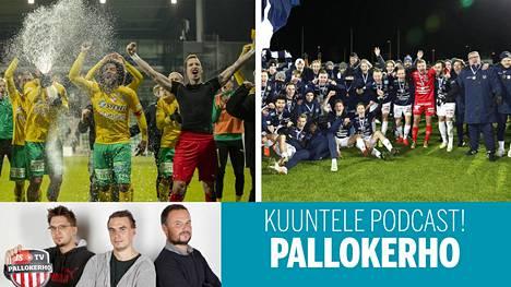 Viime syksy oli nousijoille KTP:lle ja AC Oululle juhlaa. Tästä kaudesta tulee vaikeampi.