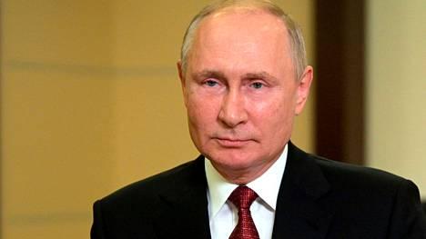 Presidentti Putin piti Venäjän kansalle televisioidun puheen ennen vaaleja 15. syyskuuta.