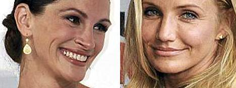 Julia Roberts ja Cameron Diaz ovat netin naispaholaiset.