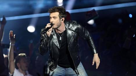 Sebastian Rejman lauloi Daruden tuottamalla kappaleella Tel Avivin viisuissa.