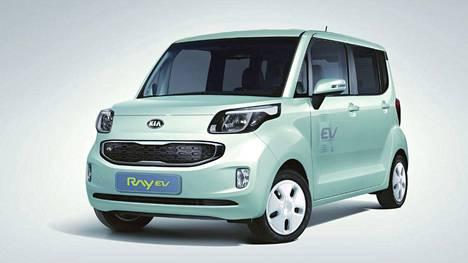 Kia Ray EV oli ja on 3,5-metrinen kaupunkiauto.