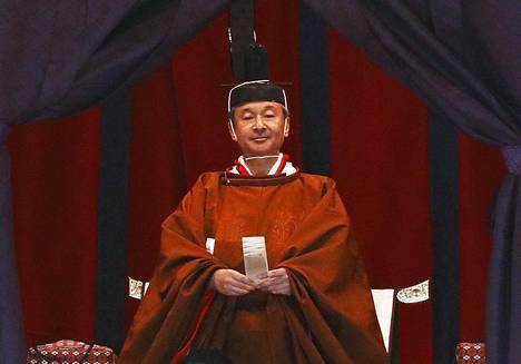 Naruhito on nyt uusi Japanin keisari.