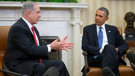 Israelin pääministeri Benjamin Netanjahu matkusti maanantaina Washingtoniin.
