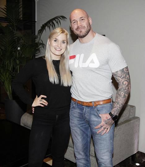 Iida Ketola ja Renne Korppila kuvattuina lokakuussa 2017.