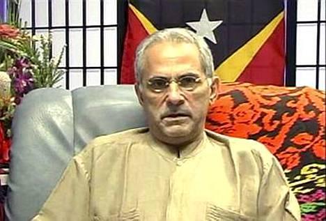 Murhayrityksen uhriksi joutunut Itä-Timorin presidentti Jose Ramos-Horta lähetti videoviestin.