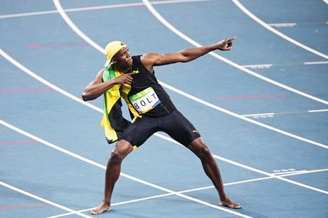 Usain Boltista sukeutui maailman nopein mies.