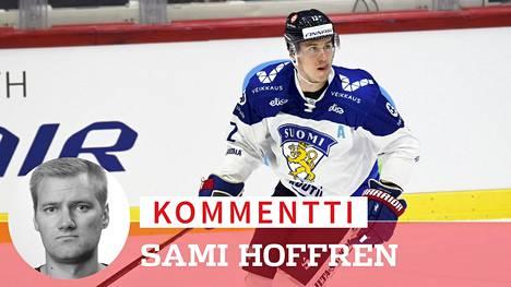 Jori Lehterää vaivasi Ilta-Sanomien jääkiekkotoimittaja Sami Hoffrénin mielestä ailahtelevaisuus.