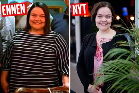 Tanja on aina ollut pyöreä, ja painoa oli kertynyt lisää jokaisen lapsen jälkeen.