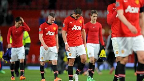 Manchester Unitedin peli on takkuillut pahasti viime aikoina.